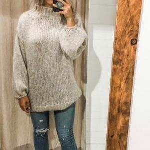 Gorgeous brand new mohair blend sweater